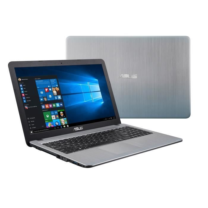 Asus pc portable f540la xx1077t 156 ram 4go intel core i3 5005u stockage 1to intel hd graphics 5500 windows 10