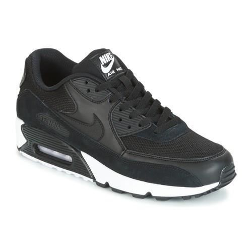 new product fdfa3 43f70 NIKE Baskets Air Max 90 Essential - Homme - Noir
