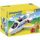 UNIVERS MINIATURE PLAYMOBIL 1.2.3. 6780 Avion de Ligne