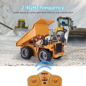 VOITURE - CAMION 2.4GHz 6CH Camion à Benne Basculante Télécommande