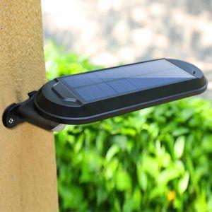 LAMPADAIRE Imperméable à l'eau solaire Capteur de mouvement S