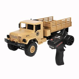 VOITURE - CAMION WPL B-16 01h16 4 roues motrices RC militaire camio