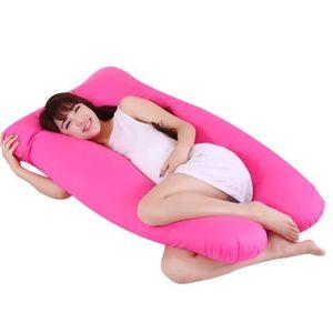 OREILLER oreiller en forme de U pour femme enceinte oreille