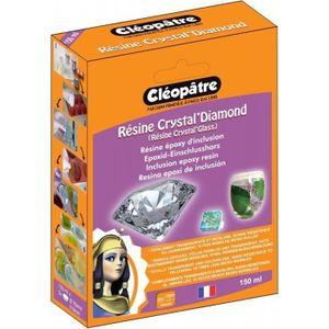 Pâte à sel Résine Crystal Glass' de Cléopâtre -150 ml