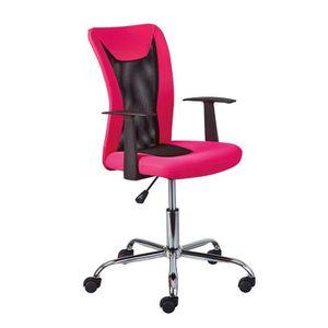 hjh OFFICE 634130 chaise de bureau enfant KIDDY GTI-2 noir//vert sans accoudoirs