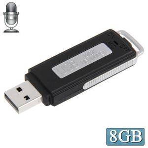 ENREGISTR. CONVERSATION Clé USB espion 8go (enregistreur Audio vocal du SO