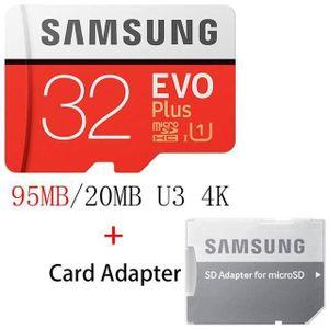 CARTE MÉMOIRE Carte Mémoire Micro SD 32 GB SAMSUNG - M1226
