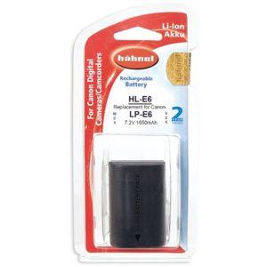BATTERIE APPAREIL PHOTO HAHNEL HLE6 Batterie li-ion conçue pour les appare