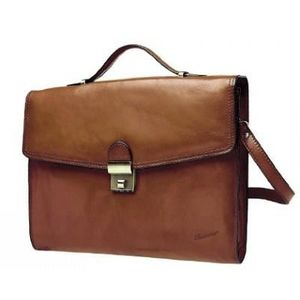 ATTACHÉ-CASE Cartable Katana Cuir de Vachette Collet K 68128 -