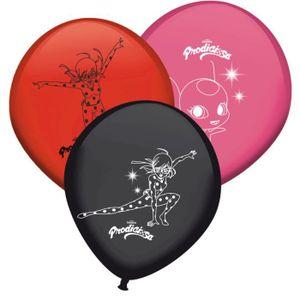 BALLON DÉCORATIF  8 ballons Miraculous Ladybug Anniversaire fête enf
