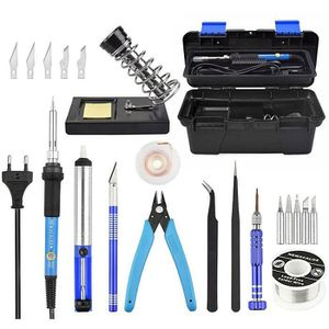 FER - POSTE A SOUDER MOGOI 20 pcs kit Fer à souder électrique, thermost