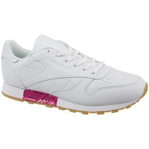Reebok Sport Leather Snake Beige - Chaussures Baskets basses Femme
