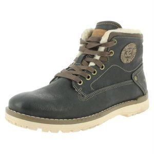 bout homme Boots rond lacets Boots lacets homme tQhrdCsx