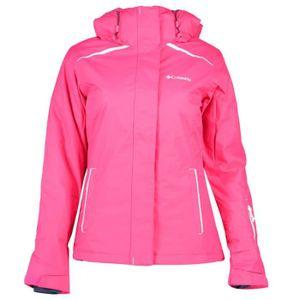 Blouson de ski femme rose