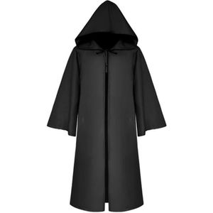 VESTE Adulte Capuche Cape Cape Chevalier Tunique Jedi Ro