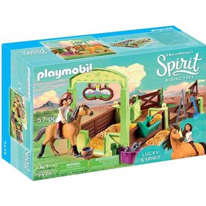 UNIVERS MINIATURE PLAYMOBIL 9478 - Spirit - Lucky et Spirit avec box