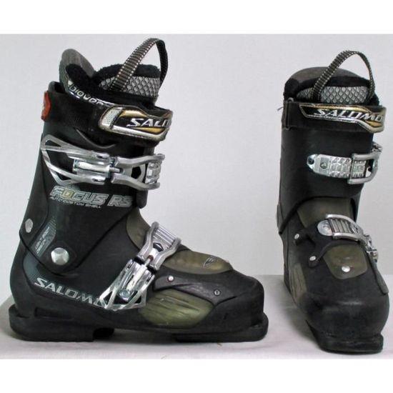 Chaussure de ski occasion Salomon focus noir rs