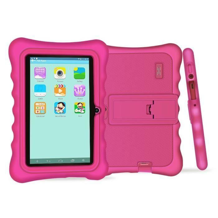 7 Pouces Tablette Tactile Enfant Hd 1024 X 600 Tablette Pc Android 4.4.2 8 Go Wifi intégré Iwawa Logiciel Youtube Jeux Éducatif