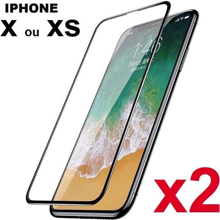 protege ecran verre trempe iphone xs