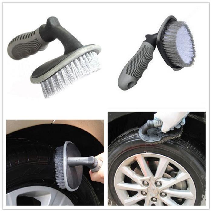Brosse roue lavage brosse voiture produits d'entretien des pneus