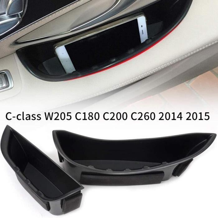 Boîte de rangement d'accoudoir de pporte avant, support de conteneur pour Mercedes Benz classe C W205 C1 KIT DE VISSERIE - PNY01408