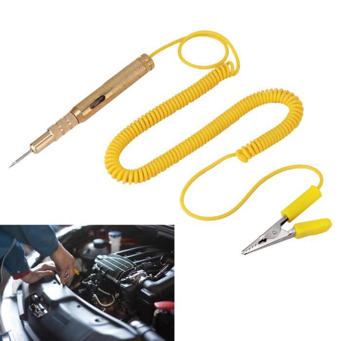 Cuque Ampoule de testeur de circuit Testeur de Circuit de véhicule de voiture automatique DC 6V 12V 24V ampoule de test de tension