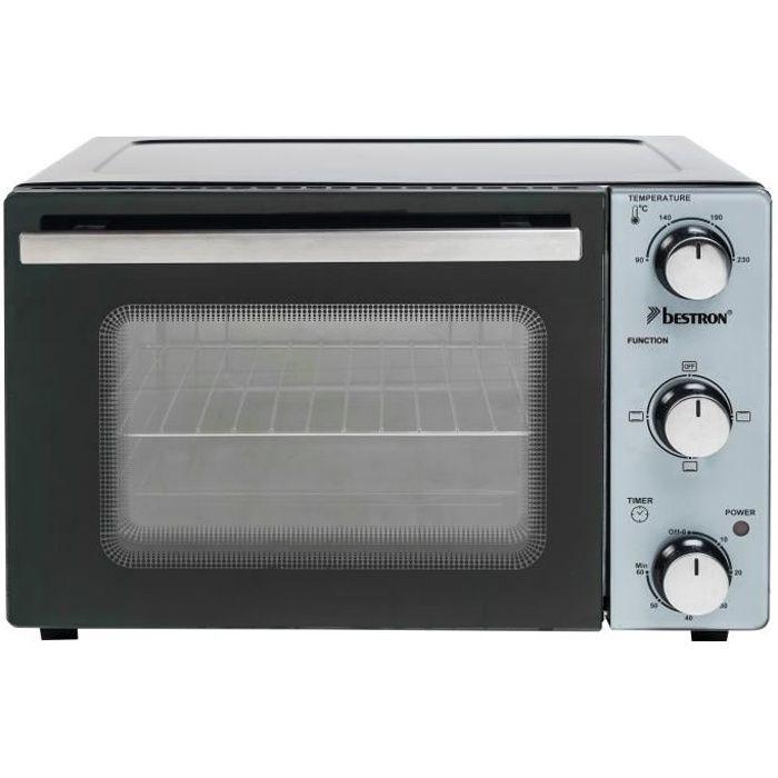 Bestron - four grill 20l 1300w noir-inox - aov20