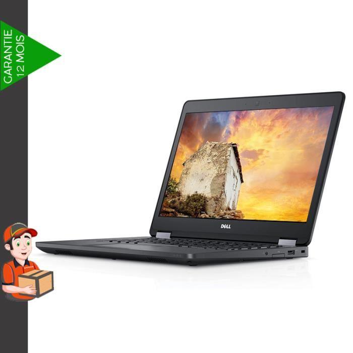 Dell Latitude E5470 14- Core i5 - SSD 256 Go - 8 Go - Français