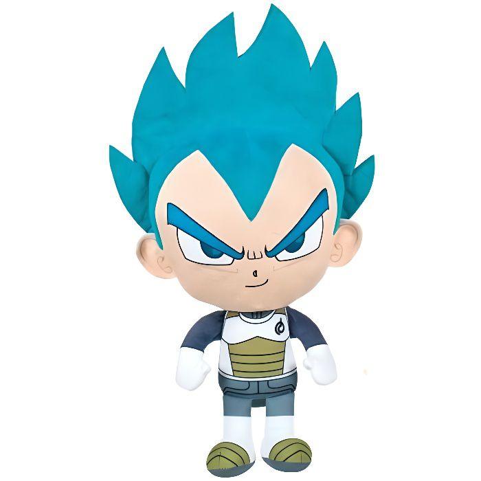 Peluche Dragon Ball Z 36 cm : Personnage Vegeta Collection Manga - Doudou Licence Super Heros - Enfant