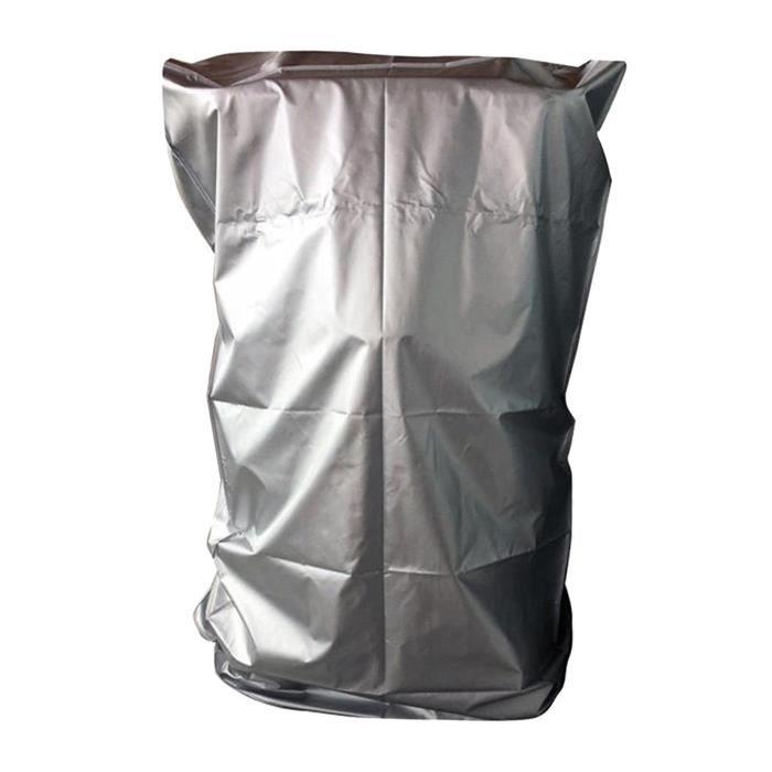 Couvrir les tapis de course, Tapis Roulant Pliant Couverture avec Fermeture Éclair, imperméable à la Argent_91x91x152cm