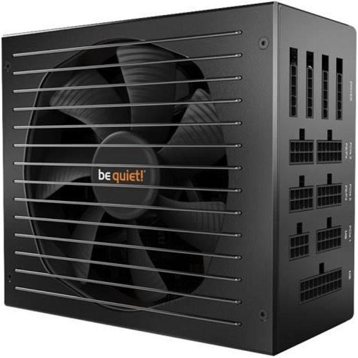 Be Quiet Système d'alimentation Straight Power Atx12v/Eps12v Modulaire 750 W Interne 120 V Ac, 230 V Ac Entrée 3,3 V Dc, 5