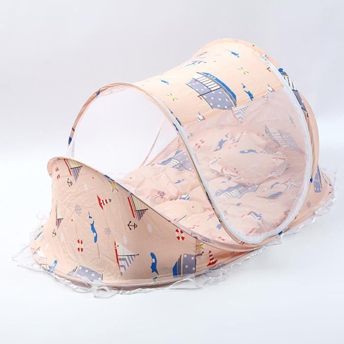 1pcs Tente moustiquaire Pliante pour bébé 110 x 65 x 60 cm