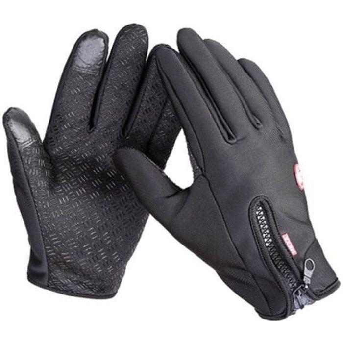 Gants de moto,Gants de Ski imperméables coupe-vent pour Sport d'hiver, gants chauffants pour moto et vélo, vente gratuite, nouvel a