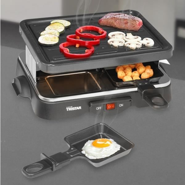 GRILL RACLETTE INDIVIDUEL