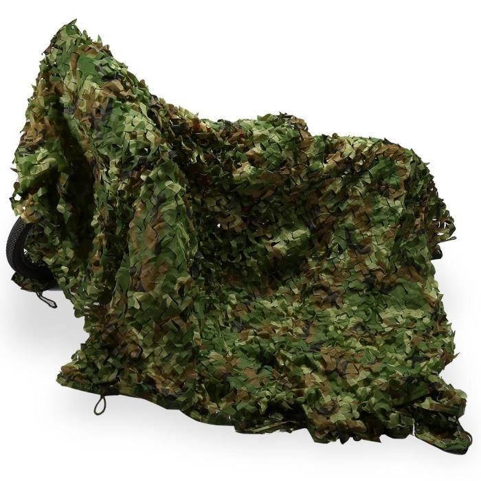 3 X 5m Filet De Camouflage Chasse Cacher Armée Militaire Jungle Pour Paitball Cs Jeu Prix Pas Cher Cdiscount