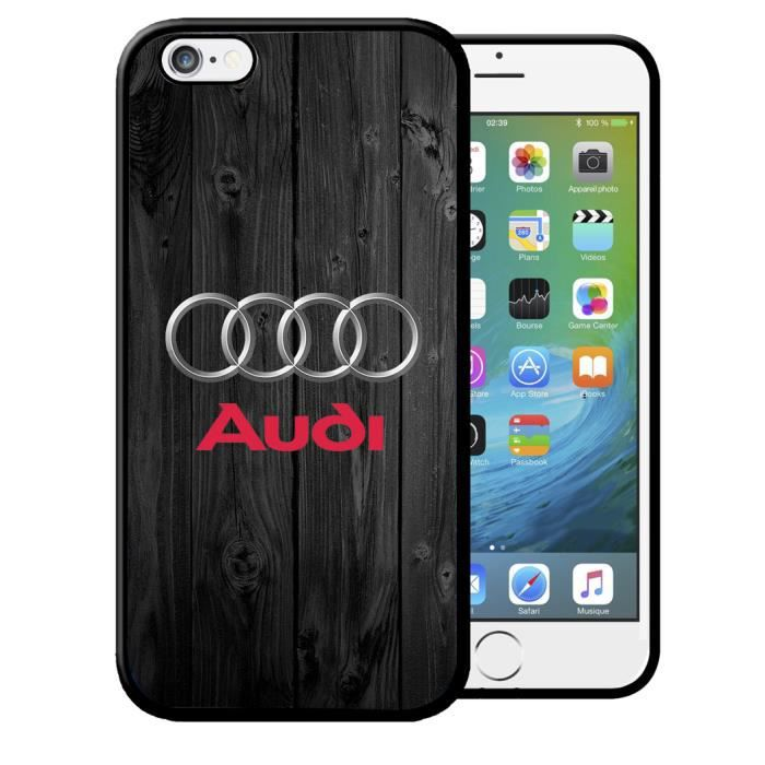 pour iphone 6 & 6s - coque iphone samsung galaxy audi a4 b8 8p a5