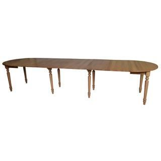 Table ronde 8 pieds 6 allonges sully achat vente table for Table 6 pieds