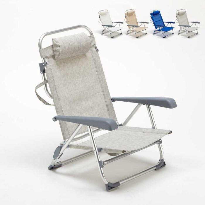 Camping Chaise Longue Transat Transat Jardin Chaise Longue Pliante Longue chaise relax Chaise longue piscine mer piscine