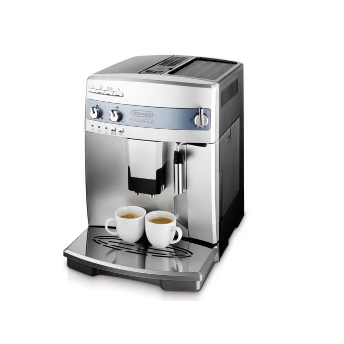 delonghi esam machine expresso automatique avec broyeur magnifica inox achat. Black Bedroom Furniture Sets. Home Design Ideas