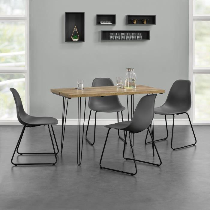 ® manger en bois casa chaises à 4 moderne avec Table vgf7yb6Y