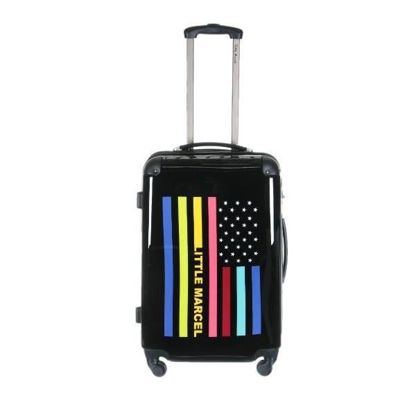 valise little marcel flag 65 cm noir achat vente. Black Bedroom Furniture Sets. Home Design Ideas