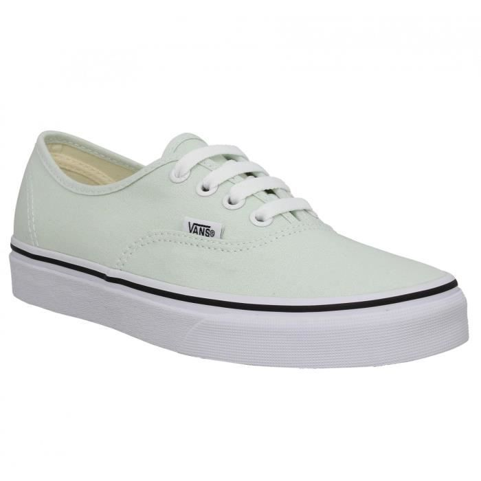 Toile Baskets 36 blue Femme Vans Authentic S88qfp