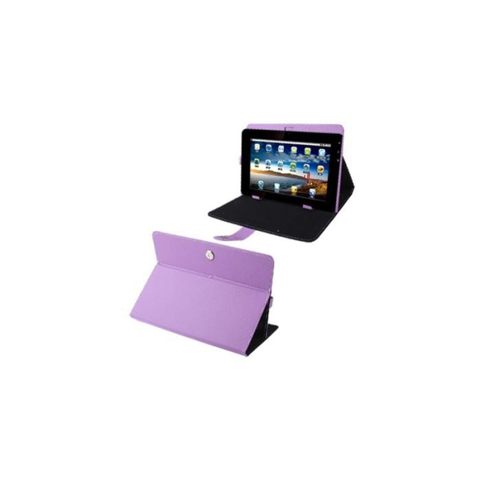 housse universelle tablette tactile 10 1 pouces support tui violet prix pas cher cdiscount. Black Bedroom Furniture Sets. Home Design Ideas