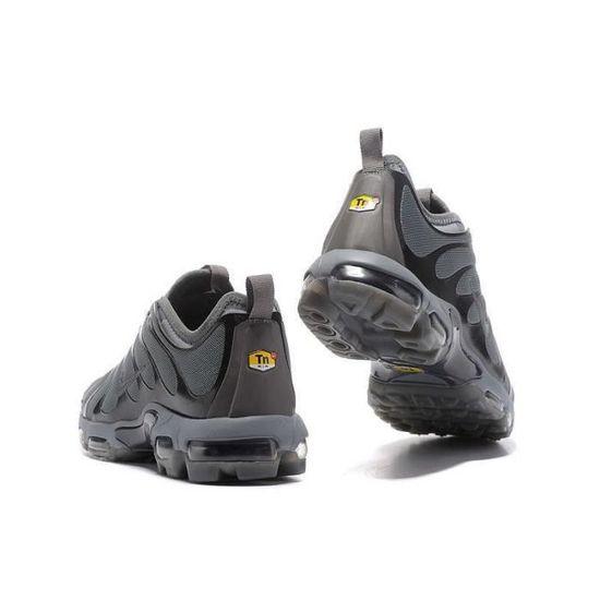 NIKE AIR MAX PLUS TN Gris foncé / Noir - Cdiscount Chaussures