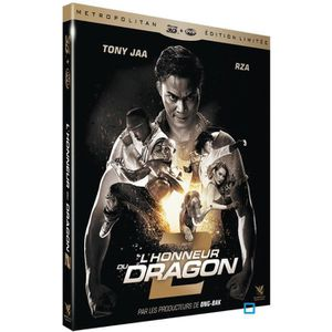 BLU-RAY FILM L'HONNEUR DU DRAGON 2 - COMBO BLU RAY 2D  3D + DVD