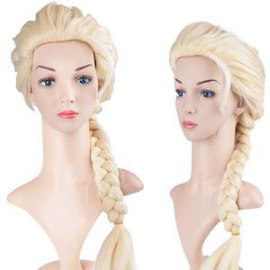 CHAPEAU - PERRUQUE Perruque longs cheveux Cosplay Enfants Filles