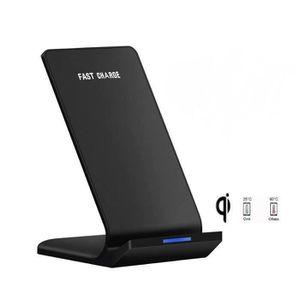 CHARGEUR TÉLÉPHONE Qi Chargeur Sans Fil Samsung - iPhone X Recharge R