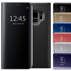HOUSSE - ÉTUI Coque Samsung gxlaxy S9 Etui à rabat Clear View Co