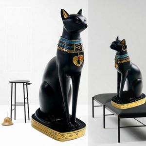 STATUE - STATUETTE Ancient Egyptien Bastet Déesse Dieu Cat Pharaoh Fi
