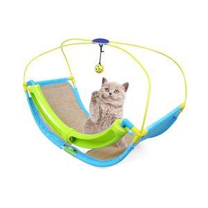 ACCESSOIRE ABRI ANIMAL  chat Hamac pour chat en bois à suspendre Suspensi